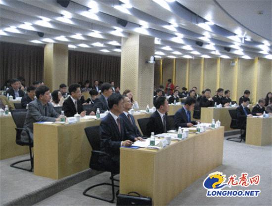 南京海关与韩国大邱海关5日在南京开发区举行合作会议
