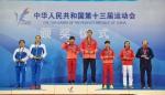 江苏运动员倪捷获得第十三届全运会国际式摔跤女子自由式48公斤级冠军 - 体育局