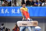 江苏运动员翁浩获得第十三届全运会体操男子鞍马冠军 - 体育局