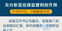 如何进一步做好巡视工作?江苏省委召开专题会研究部署 - 新华报业网