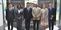 孙津副厅长会见尼日利亚联邦共和国驻上海总领事 - 商务厅