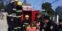 盐城滨湖街道建微型消防站 帮助村民防范火灾 - 消防总队