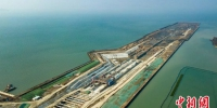 苏锡常南部高速公路太湖隧道首段主体结构框架显现 - 江苏新闻网