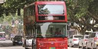 南京双层观光巴士。新华报业视觉中心记者宋宁摄 - 新浪江苏