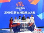 11日,2019世界女排联赛总决赛新闻发布会在南京举行。 朱晓颖 摄 - 江苏新闻网