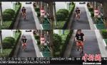 电子镜头的清晰度非常高,面部纤毫可见。警方监控屏截图 - 江苏新闻网