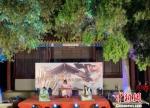 徐州博物馆推出的夜间实景节目。徐州博物馆供图 - 江苏新闻网