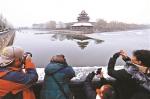 护城河边的角楼很受摄影者欢迎 - 新浪江苏