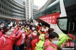 江苏第七批援湖北医疗队启程。 江苏省人民医院供图 - 江苏新闻网