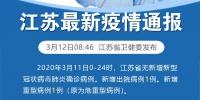 3月11日江苏无新增新冠肺炎确诊病例 - Huaxia.Com 江苏新闻